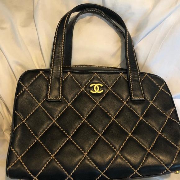 571ca2c8e801e1 CHANEL Handbags - Chanel wild stitch handbag